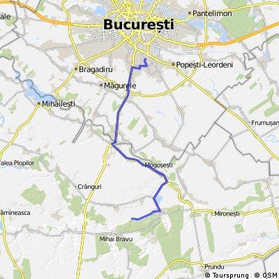 Tura Bucuresti - Comana