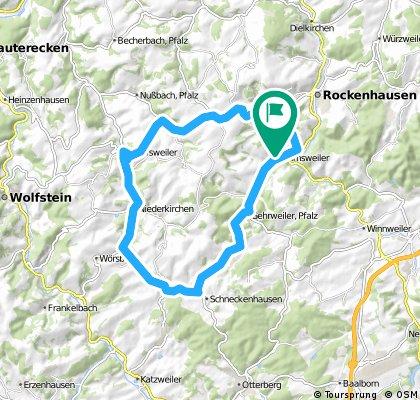 Dörnbacher Höhe und durchs Gundersweiler Tal