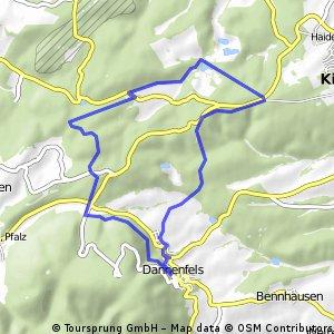 Mit dem MTB am Donnersberg