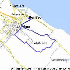 Berisso - Bavio - Correas - Arana 26-04-2015