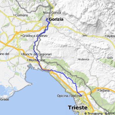 01 From Trieste to Gorizia QVF