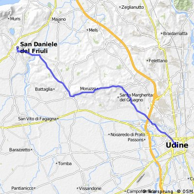 07 From San Daniele to Udine