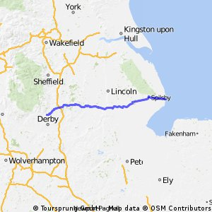 Skegness route