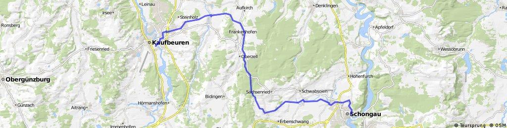 Sachsenrieder Bähnle (Kaufbeuren - Schongau)