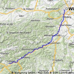 Etappe 01 Wien-Leoben