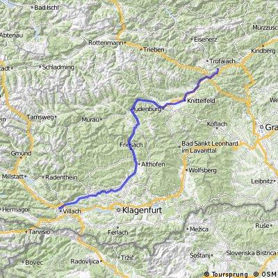 Etappe 02 Leoben-Villach