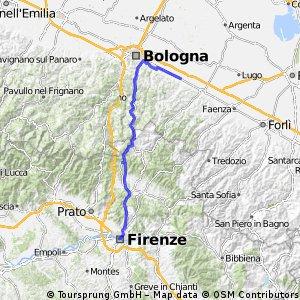 Etappe 07 Castel C. Pietro - Florenz
