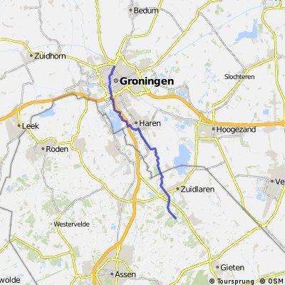 Aanfietsroute MTB Schipborg