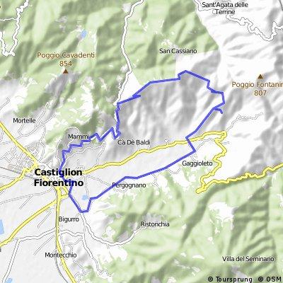 Castiglion Fiorintino Toskana-Runde
