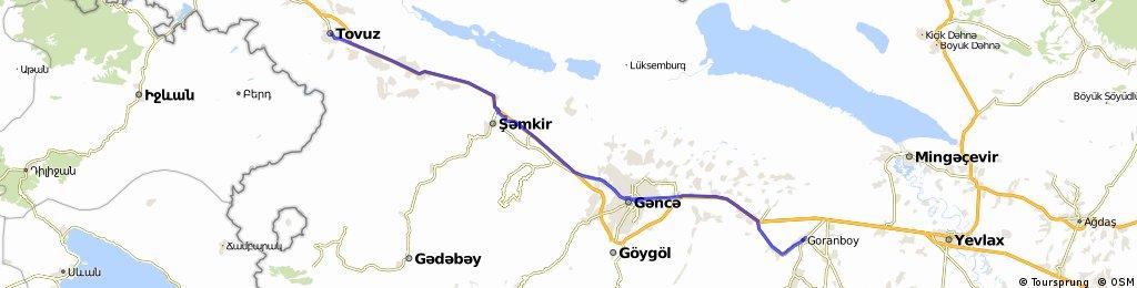B33A Tovuz - Goranboy
