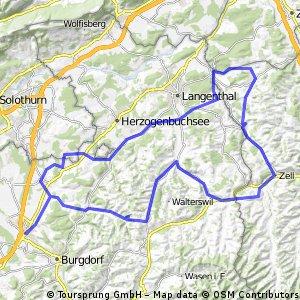 Boucle à l'Est de Berne