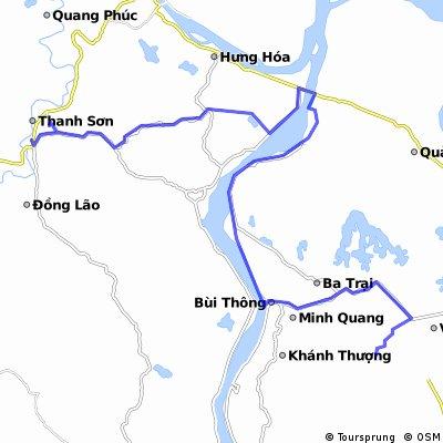 Day 2_Ba Vi Homestead to Thanh Sơn_Song Vang Hotel