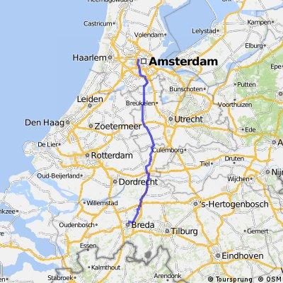 PANAME AMSTERDAM Etape 5: Breda / Amsterdam