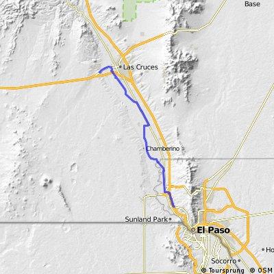 El Paso City Limits -