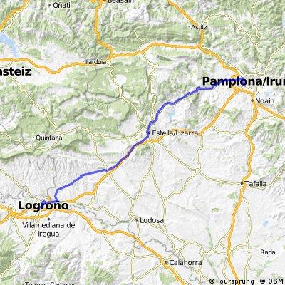Pamplona - Logrono