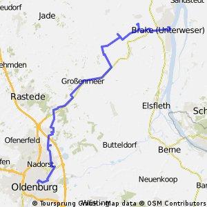 Auf Spuren der Großherzoglich Oldenburgischen Eisenbahn (6) OL-Brake