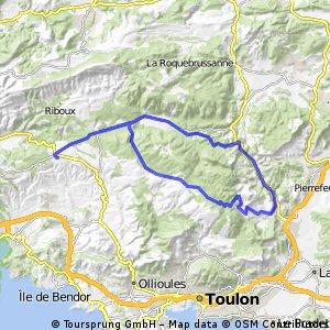 Marseille_3b: Rundtour ab Le Camp du  Castellet