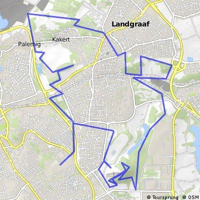 Nightride met MTB Discovery route 2 Landgraaf !