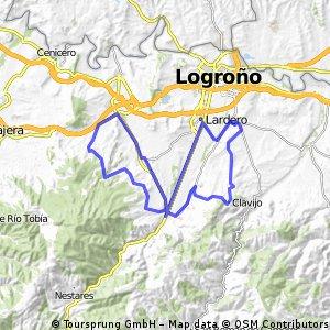 Villamediana-Lardero-Sorzano-Navarrete-Entrena-Albelda-Clavijo-Villamediana