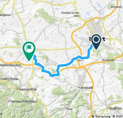 3. Tag Radtour Thüringer Städtekette 2013