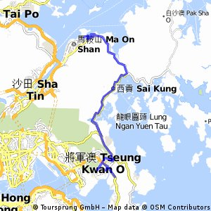 From home to Ma On Shan