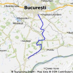 Bucuresti - Vidra - Comana - Baneasa