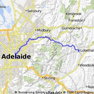 Bike SA Outback Odyssey 2015 Day 1