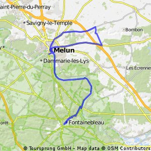 Week-end autour de Melun