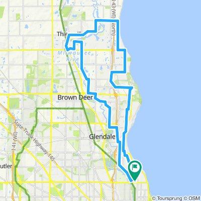 35 Mile Thiensville Ride