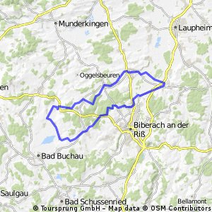 Rundkurs Schemmerhofen Attenweiler Bad Buchau Stafflangen Warthausen Äpfingen Schemmerhofen