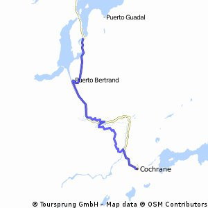 Carretera Austral 18.Etappe Lago Negro - Cochrane