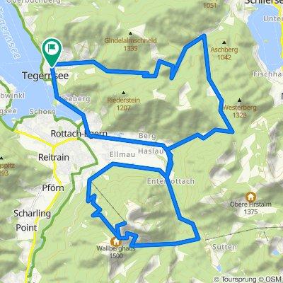 Alpbach - Rottach Runde ca. 1600hm (2,5 bis 3,5St.)