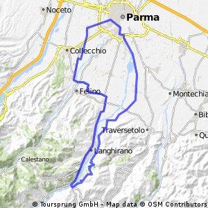 1^ Medio Fondo Pedale Parmigiano - CORTO