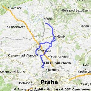Máslovice - Horní Počaply