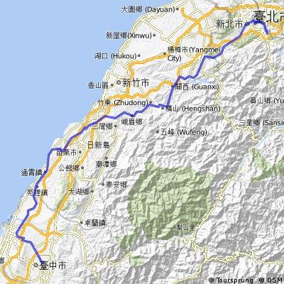 80) Taipei-Taichung-(hügelig)