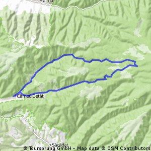 Traseu scurt - Campu Cetatii