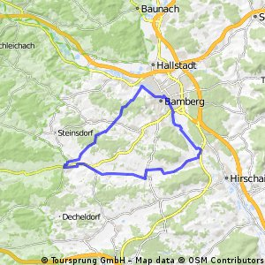 Stadt-Land-Fluss Tour Bamberg