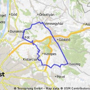 Kerepes-Isaszeg-Veresegyház