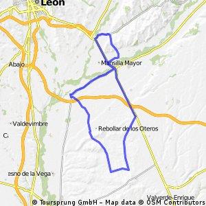 Ruta de Santa María de los Oteros - Villasabariego