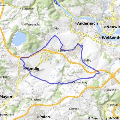 RST Vulkantour - RTF des RadSportTeam Ochtendung e.V. - 41 km Strecke