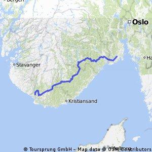Sandefjord-Flekkefjord