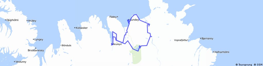 Island sever - Akureyri - Godafoss - Mývatn - Dettifoss - Asbyrgi - Husavik - Laufás
