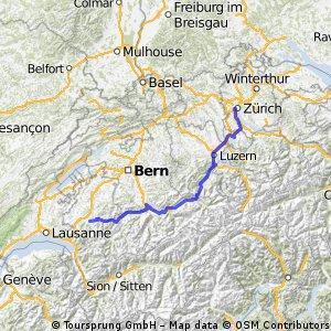 Tour de Suisse - Tag 5-6