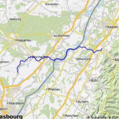 DE Baden-Baden - über den Rhein nach Weyersheim