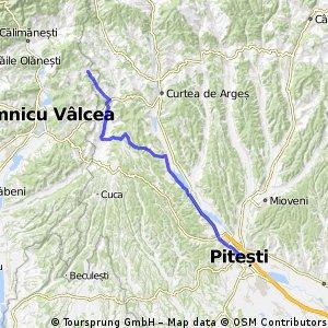 Pitești - Valea Babei - Pitești