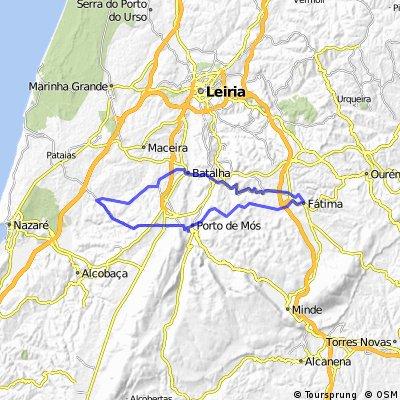 Calvaria - Batalha - Fátima - Porto de Mós - Juncal - Calvaria