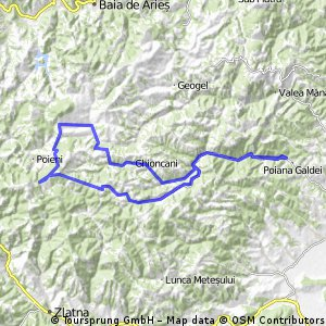 Tura Bike Intregalde - Mogos - Negrileasa - Sfarcea - Intregalde