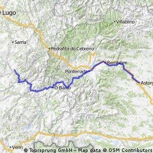 Astorga-Santiago-Camino de Invierno