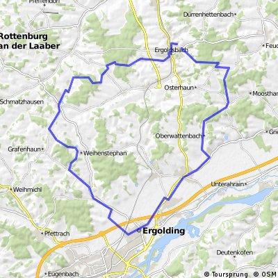 Windkraftanl Moosthann - Ergolding - Hohenthann - Runde