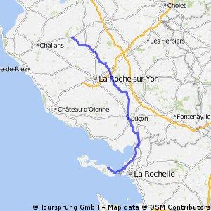 Lege to La Flotte 122km 150m